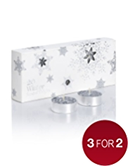 20 Christmas Winter Scented Tealights