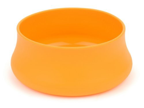 Guyot Designs- Squishy Pet Bowls, Tangerine
