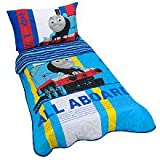 Thomas the Train Toddler Bedding 4 Piece Set - Blue