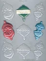 Ornament Pieces Candy Mold