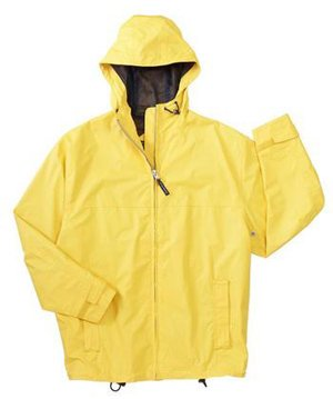 Seattle Slicker Waterproof Rain Jacket, 4XL, Goldenrod/Navy