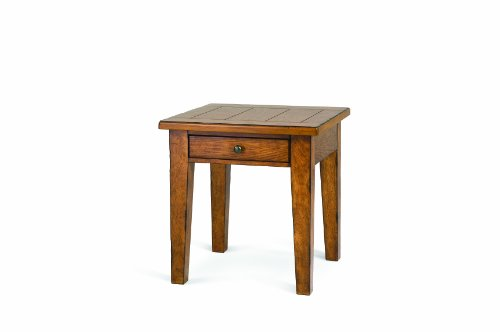 Cheap Magnussen Mackenzie Wood Square End Table with Drawer (T1367-01)