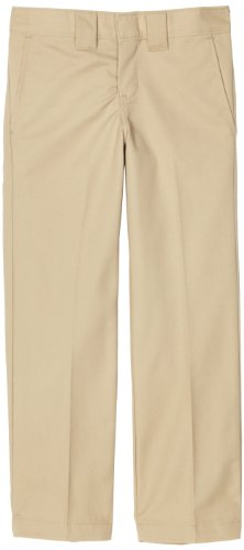 Dickies-qp873Boys Slim Straight Pantaloni Desert Sand 14 anni