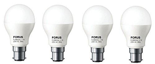 FL09B22AL 9W White LED Bulbs (Pack of 4)