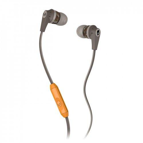 Skullcandy Ink'D 2 Realtree Collaboration With Mic Earphones/Earbuds Premium Headphone - Camo/Dark Tan