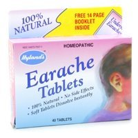 Hyland's - Earache Tablets, 40 tablets