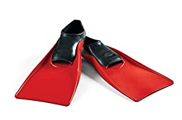 Long Floating Fin 9-11 Black/Red