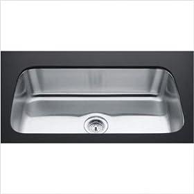 """Undertone 8"""" Extra Large Undermount Kitchen Sink"""