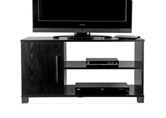 Buying Guide of  TV Stand  1 Door Television Cabinet 2 Shelves  Ash Entertainment Unit