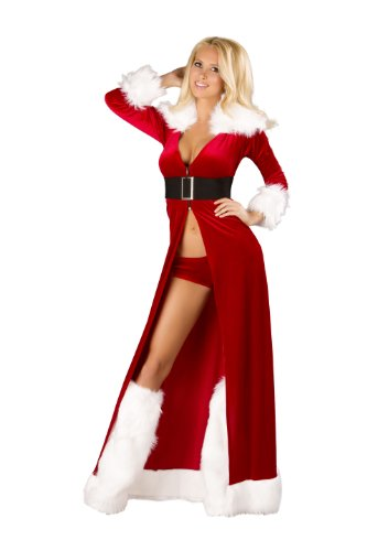 Roma Costume Women's 3 Piece Sexy Miss Claus