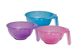 Soft'N Style Stackable Color Bowl (Single piece, Assorted Colors)