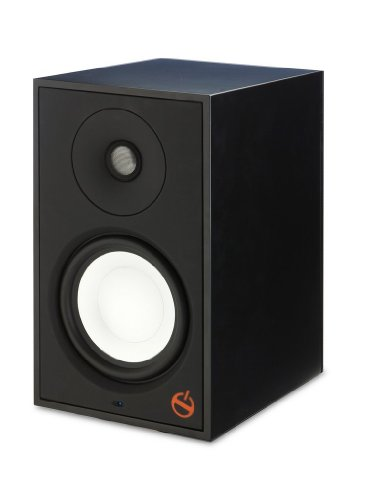 Paradigm Shift Series A2 Fully Powered Bookshelf Speaker - Each (Storm Black Satin)