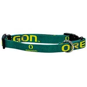 Oregon University Ducks Adjustable Pet Dog Collar All Sizes (XS)