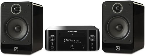 Review and Buying Guide of Cheap Marantz MCR610 Black with Q Acoustics 2020i Gloss White (R)