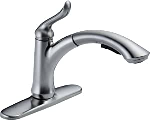 Delta Faucet 4353-AR-DST Linden Single Handle Water-Efficient