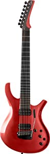 Parker Maxx Fly 7-String Series DFMV7MR 7-Strings Electric Guitar, Metallic Red