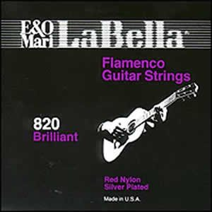 la bella elite 820 flamenco red trebles guitar strings musical instruments. Black Bedroom Furniture Sets. Home Design Ideas