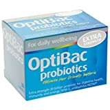 OptiBac Probiotics For every day EXTRA Strength - Pack of 30 Capsules