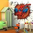 Clest F y H Spiderman pegatinas de pared con adhesivo decorativo de vinilo decorativo al elementos de decoración para habitación infantil * 54 cm 70 cm - BebeHogar.com