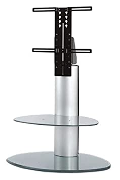Off The Wall Motion Cantilever TV Stand - Silver