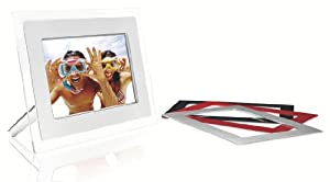 Philips 8.5-Inch Digital Picture Frame (Clear) w/3 Additional Colored Frames