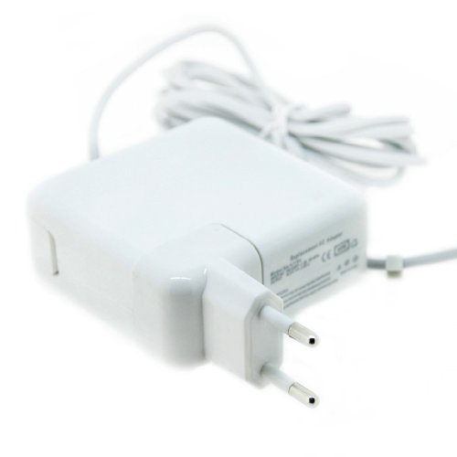 Netzteil Ladegerät 60W Magsafe für: Apple MacBook / MacBook Pro / Macbook Air / Mac Book 13 / MacBook Pro 15 / Macbook Pro Unibody / Macbook weiß schwarz 13 / A1184 MA538LL/A 661-0443, MC505LL/A, MC503LL/A