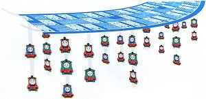 Thomas and Friends Chugging Your Way Ceiling Decoration