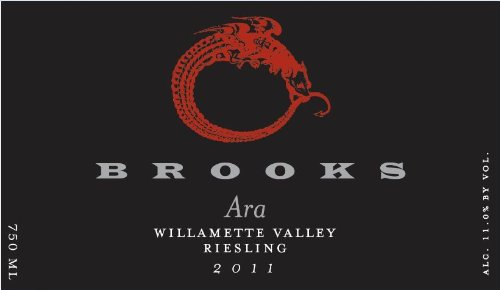 "2011 Brooks ""Ara"" Willamette Valley Riesling 750 Ml"
