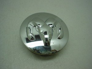 DODGE RAM 1500 CHROME WHEEL CENTER CAP COVER MOPAR OEM (Dodge Ram Wheel Center Cap compare prices)