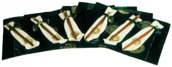 Asian placemat set, emerald green - Buy Asian placemat set, emerald green - Purchase Asian placemat set, emerald green (Reorient, Home & Garden, Categories, Kitchen & Dining, Kitchen & Table Linens, Place Mats, By Style, Asian Influence)