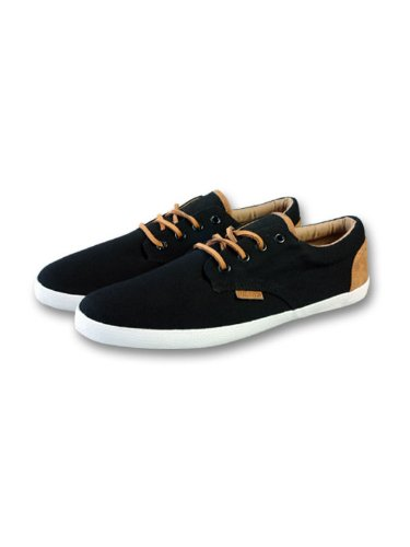 Djinns Nice Low-Pro Canvas Sneaker Black