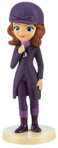 Disney Junior Sofia the First Horse Riding Outfit Pvc Toy Figure Cake Topper Figurine 2.5""