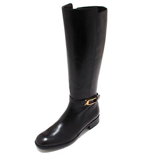 4355P stivale TOD'S STIVALE GANCIO donna nero boot woman [40]