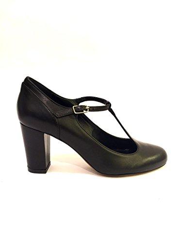 Decollete AZ/51830/534 in pelle tango baby laccio alla caviglia 36, nero MainApps