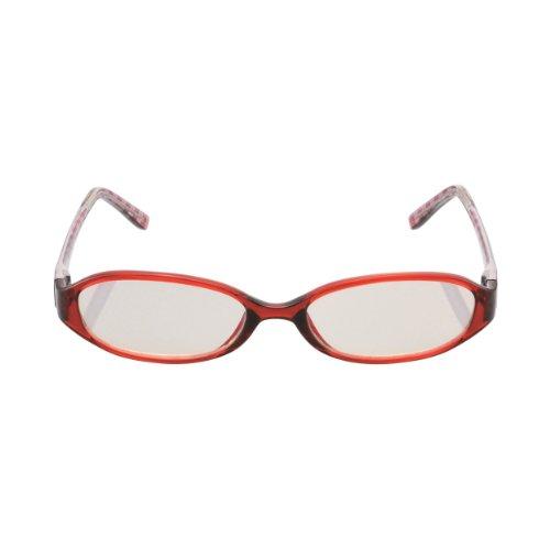 ELECOM ブルーライト対策メガネ 老眼鏡 +0.5 女性用 OG-DBLC05FM