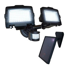 Nature Power 23401 120 Led Outdoor Solar Security Light With Motion Sensor