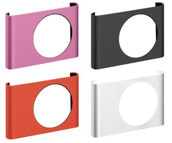 Exspect 4 X Shuffle clips, 3 metal black, red and pink and a plastic crystal clear option