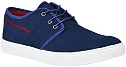 Pinellii Mens Canvas Casual Lace Up