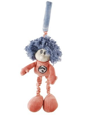 My Natural 42333 Doctor Seuss Thing 2 Stroller Toy - 1