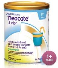 Neocate Junior Tropical/Case Of 4