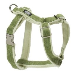 Planet Dog Cozy Hemp Adjustable Harness Apple Green Medium from Planet Dog
