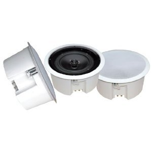 Pyle Home Pdpc8T In-Ceiling Enclosed Speaker System With Transformer