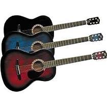 Rogue Starter Acoustic Guitar, Blue Burst