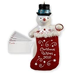 Hallmark Christmas Wish Keeper Keepsake Ornament 2010 - QXG7573