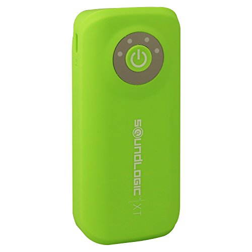 Click to buy SoundLogic XT Neon 5600 mAh Power Bank Charger with Light - Retail Packaging - Green - From only $29.99