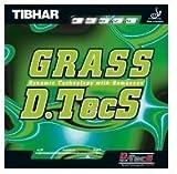 ティバー 卓球ラバー Grass D.TecS グラスディーテックス ティバー / TIBHAR  (ブラック, 1.6)