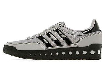Adidas Originals Training PT 70's Trainers Grey/Black US Sizes (M)10 (W)11.5 Unisex/Adult