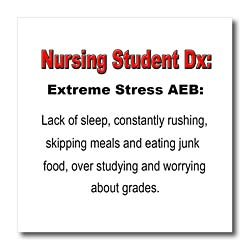 Nursing student stress