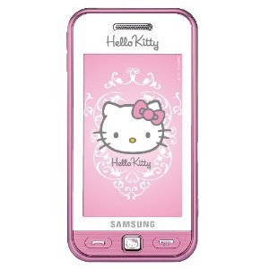 Samsung S5230 Hello Kitty Pink Unlocked GSM QuadBand Cell Phone