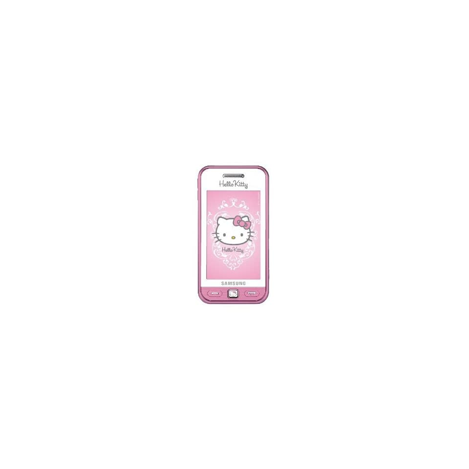 Hello Kitty By Samsung Player One CE0168 Cell Phone (white/pink)